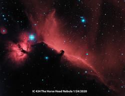 IC434 Ha Oiii