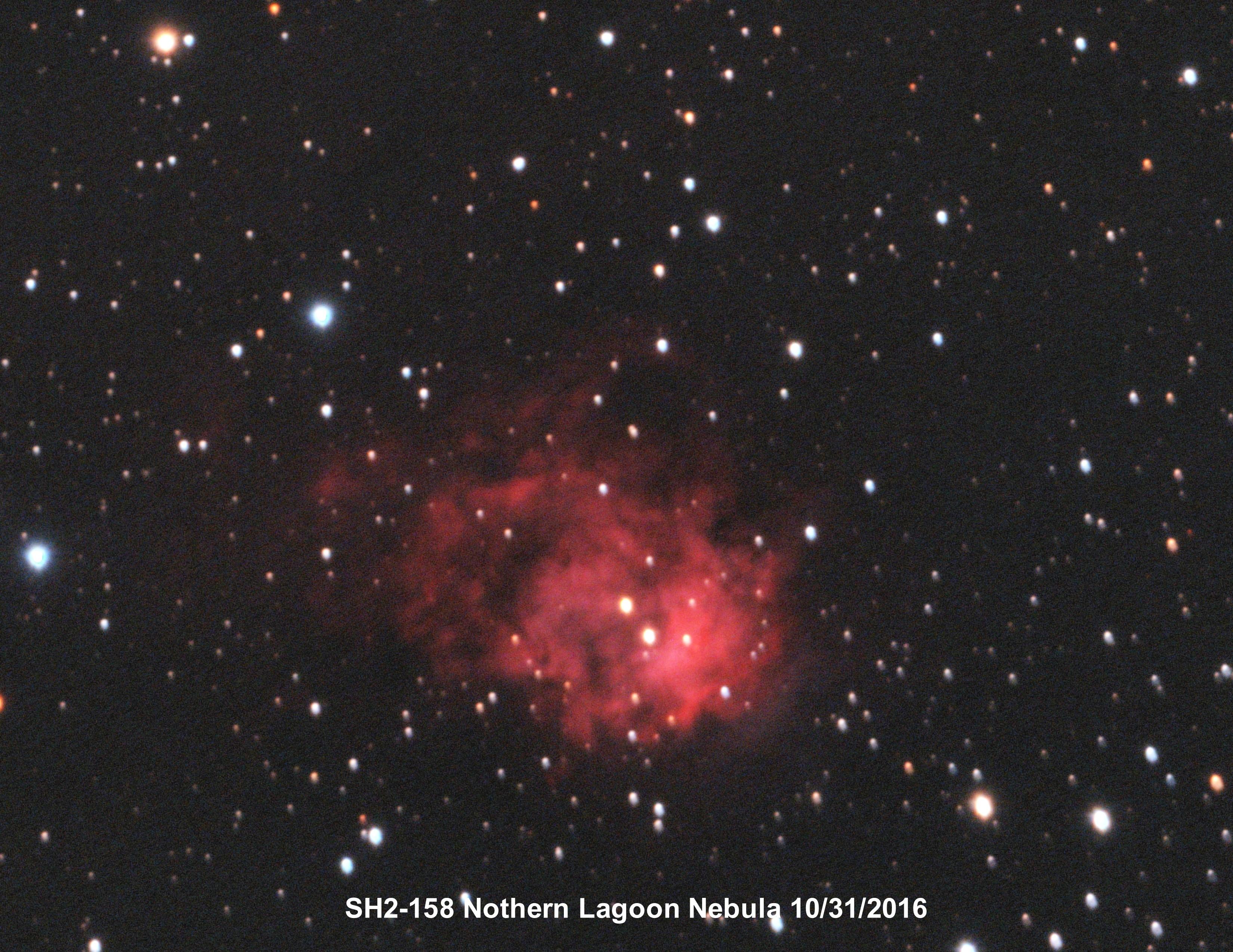 Sh2-158 Northern Lagoon