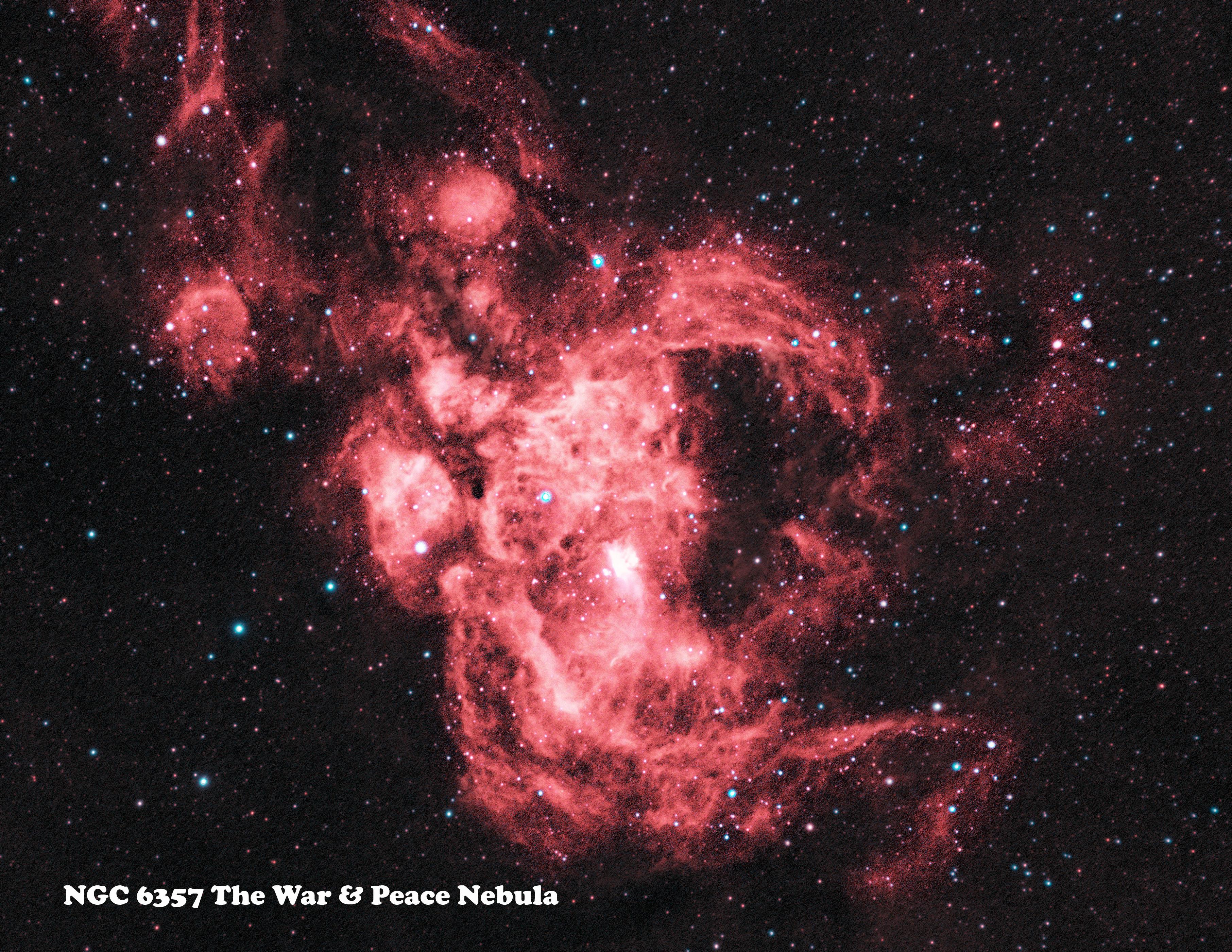 NGC 6357 HaOiii