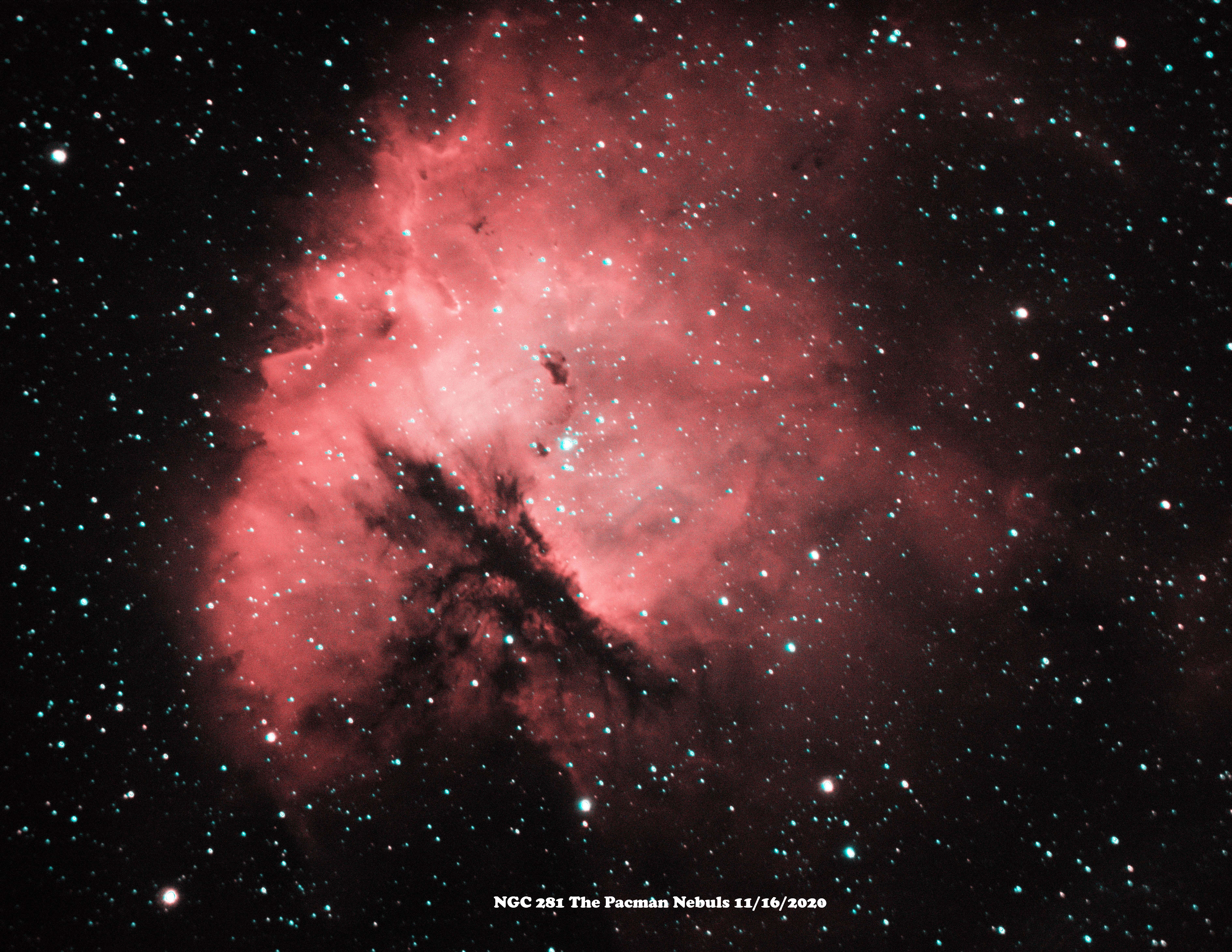 NGC 281 HaOiii 2020