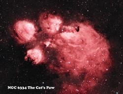 NGC 6334 HaOiii 6-15-20