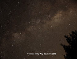 Summer Milky Way South