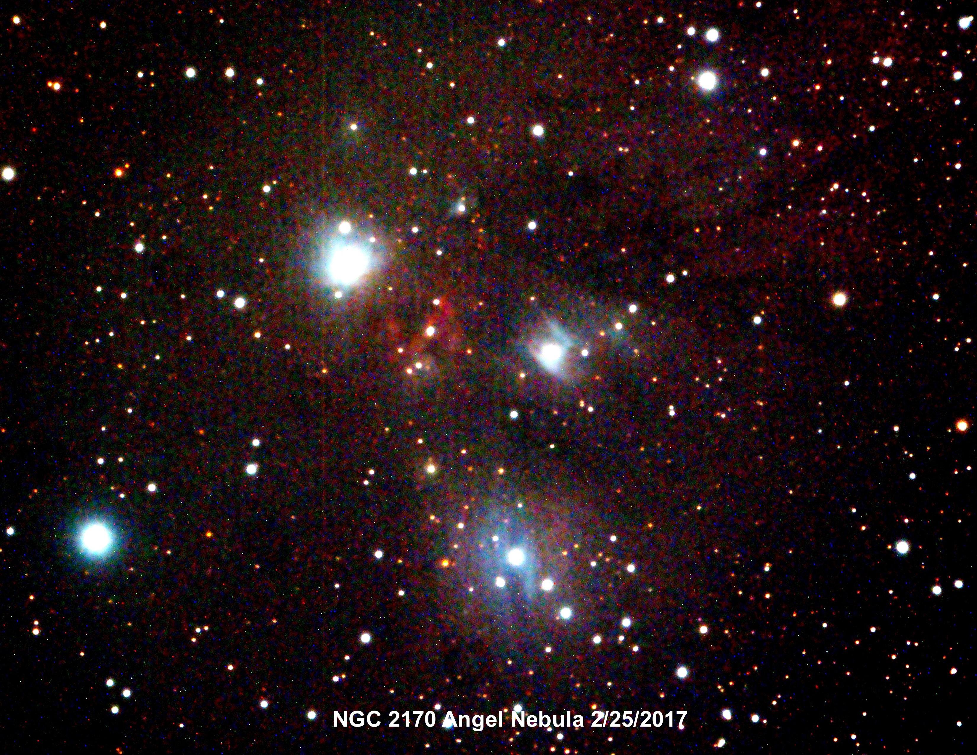 NGC2170 Angel Nebula