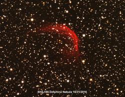 Sh2-188 Dolphine Nebula