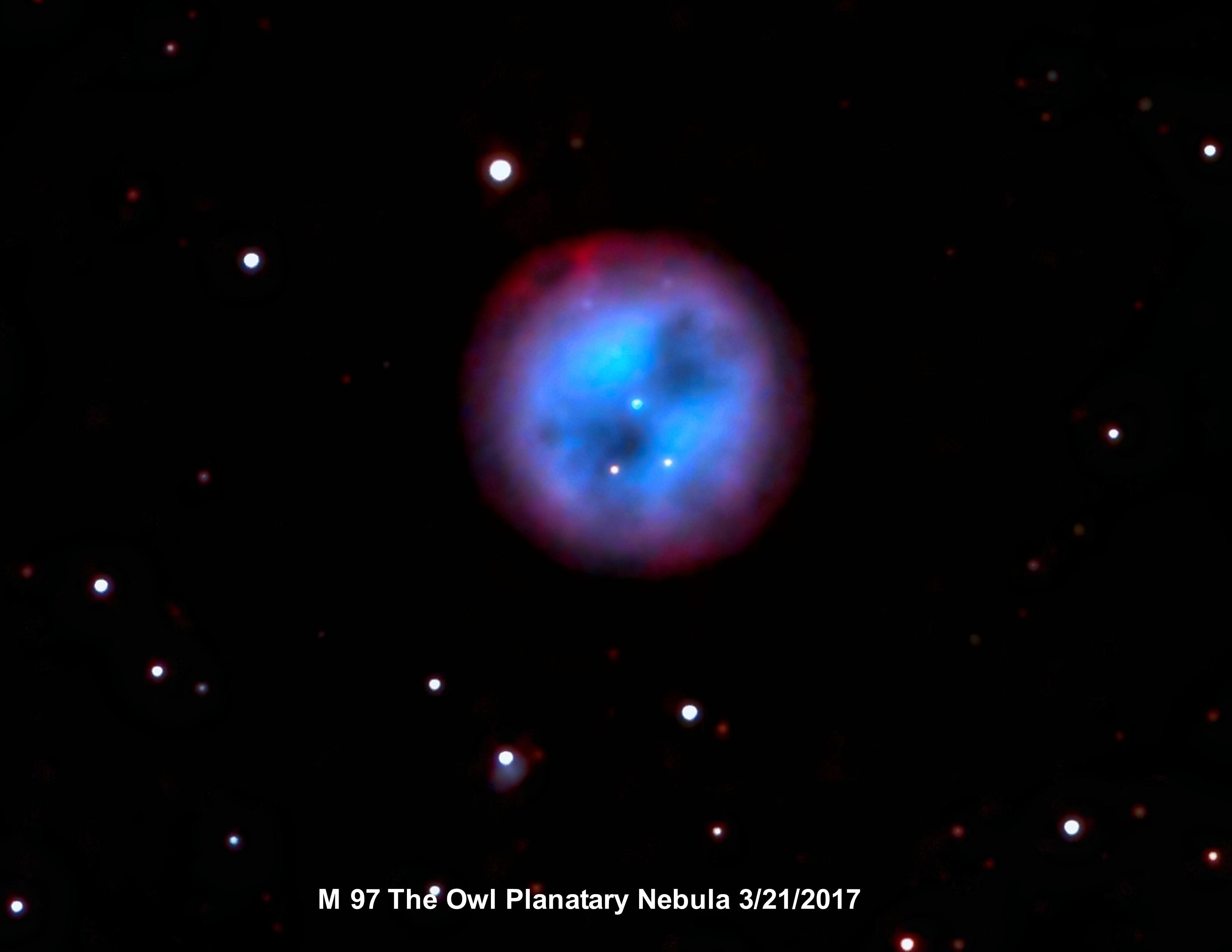 M 97 Owl Planitary Nebula