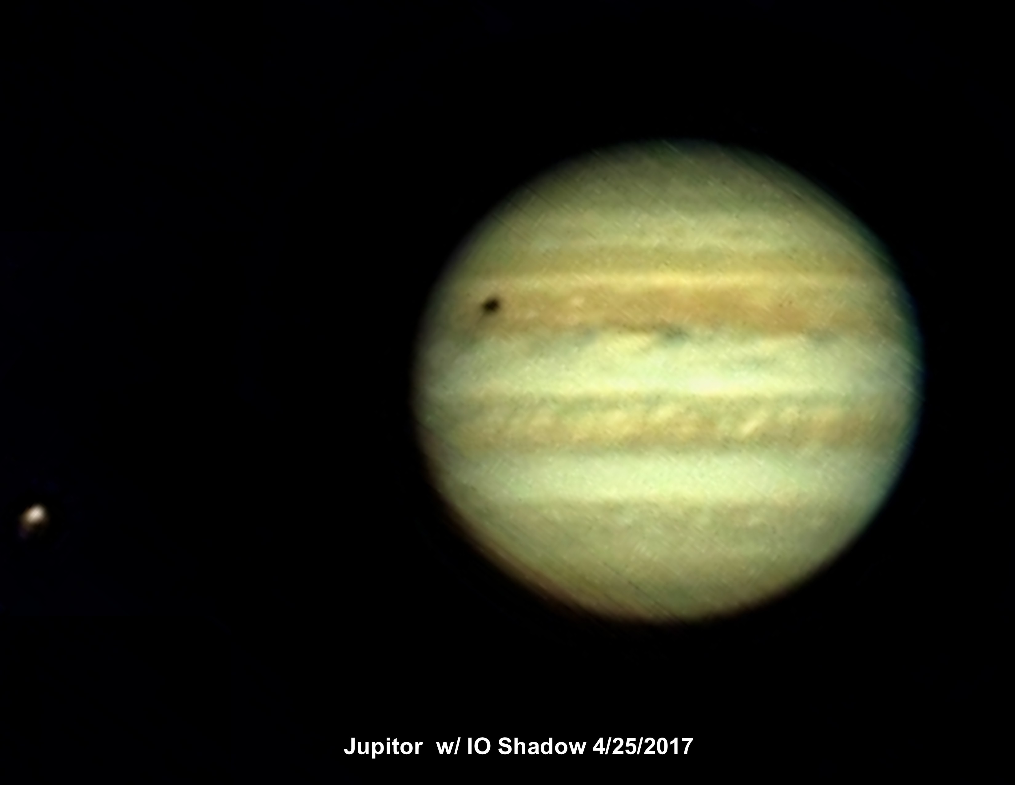 Jupitor and IO shadow 4-25-17