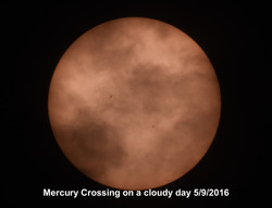 Mercury Crossing 5-9-2016