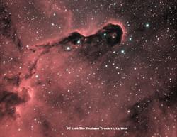 IC 1396 HaOiii 2020