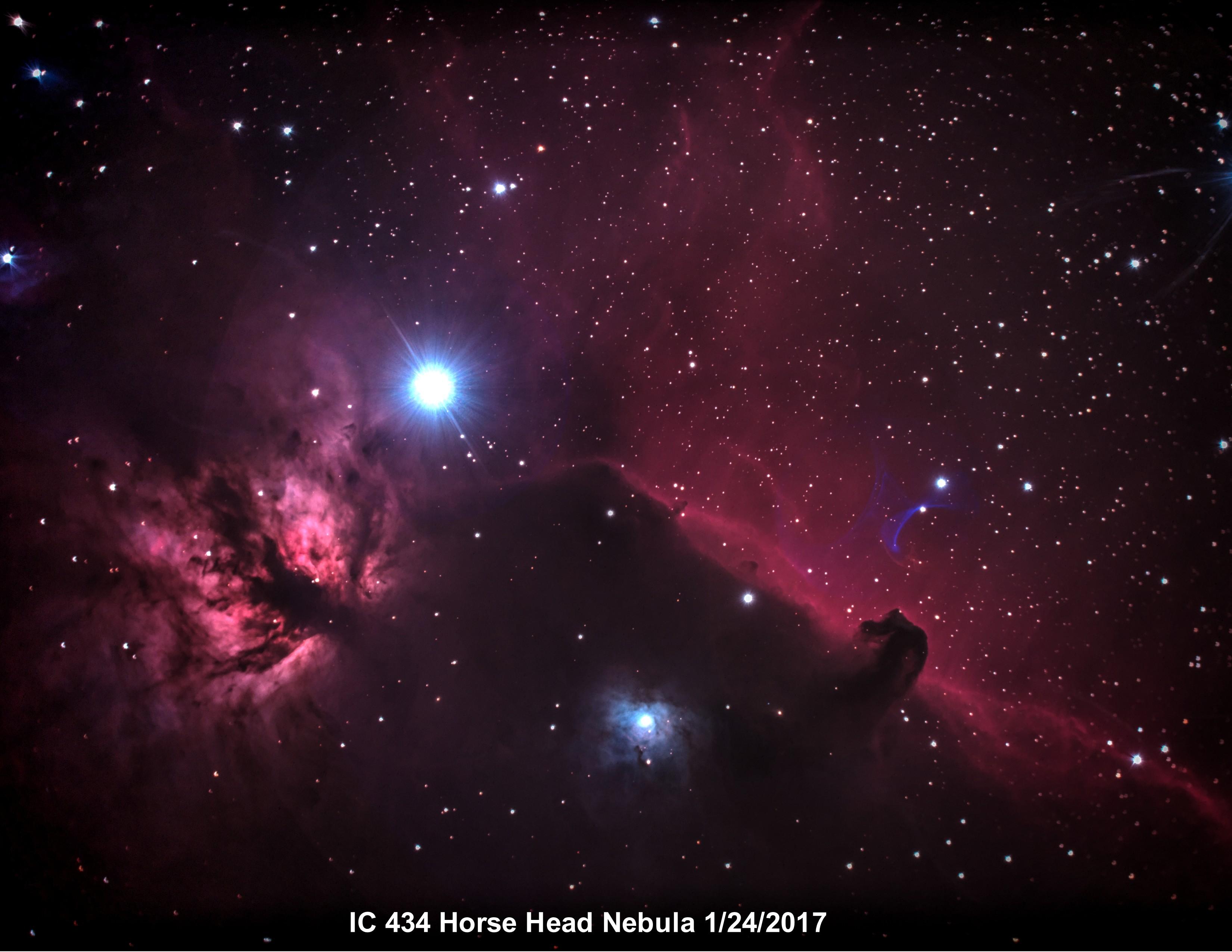 IC434 Horse Head 1-2017 8x11