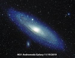 M31 LRGB 2019