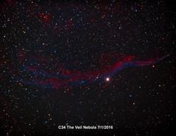 C34 Veil Nebula
