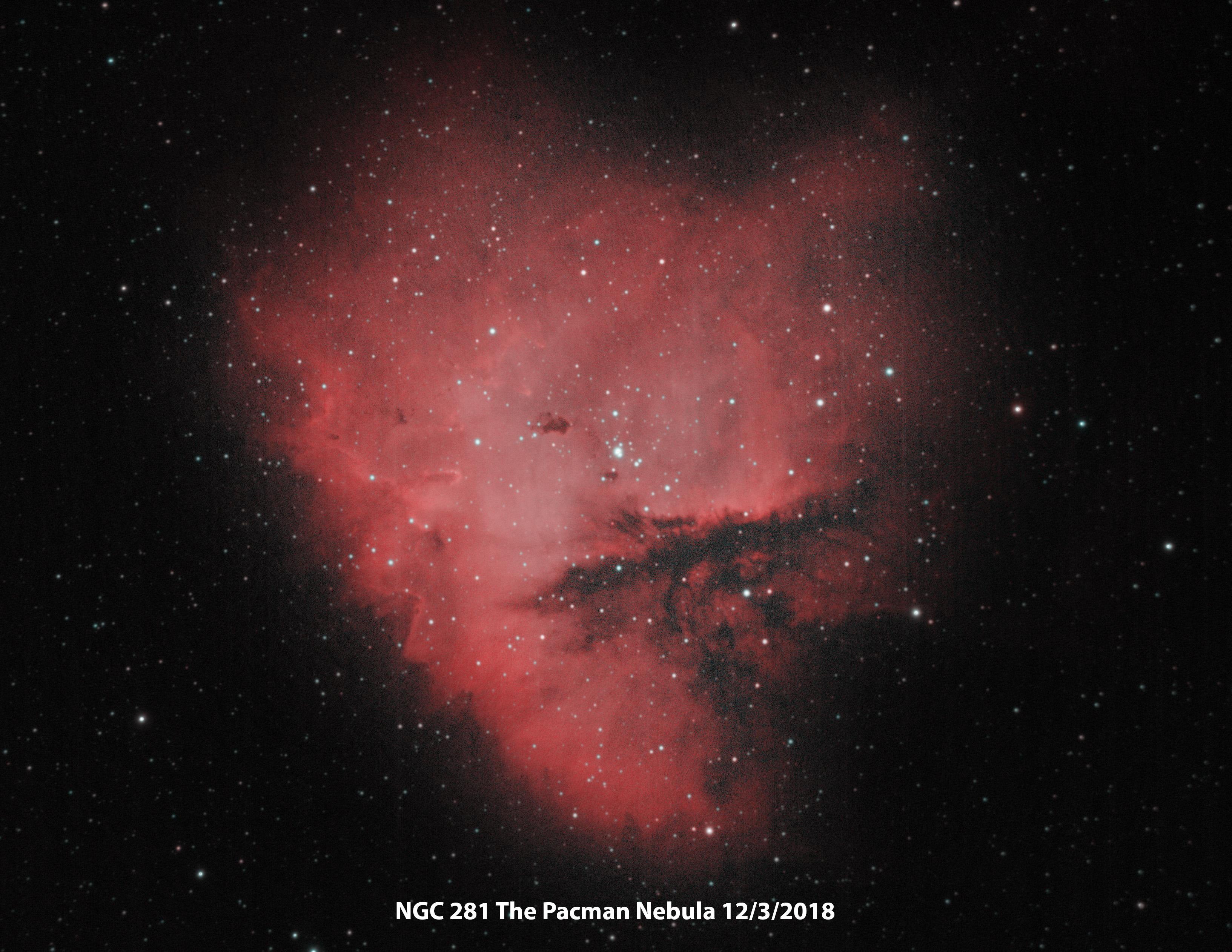 NGC 281 Ha-Oiii