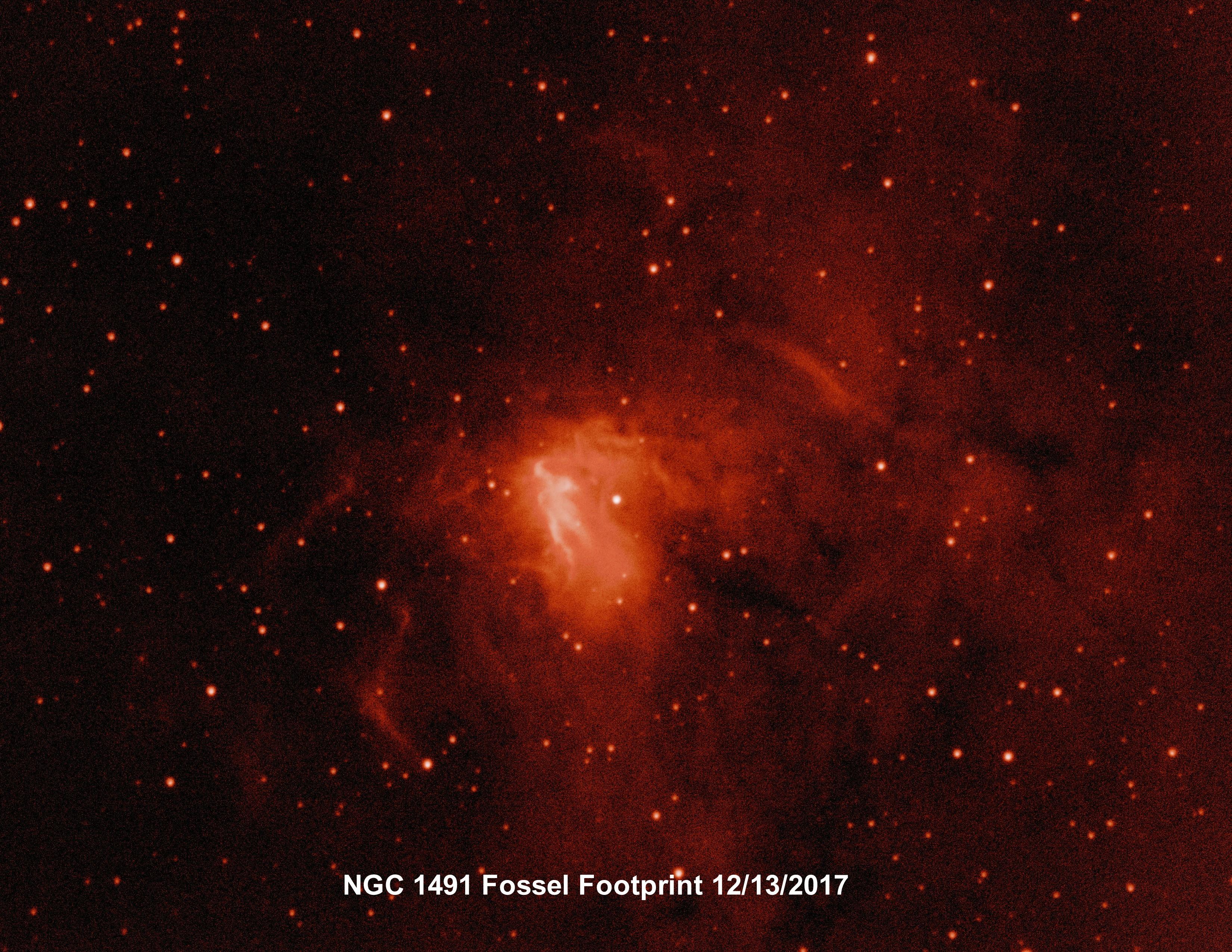 NGC 1491 Ha project