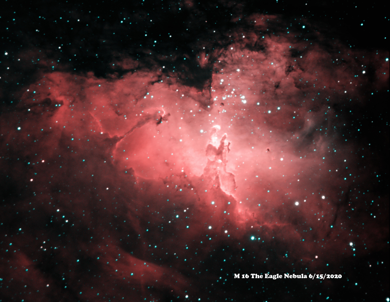M 16 HaOiii 6-15-2020