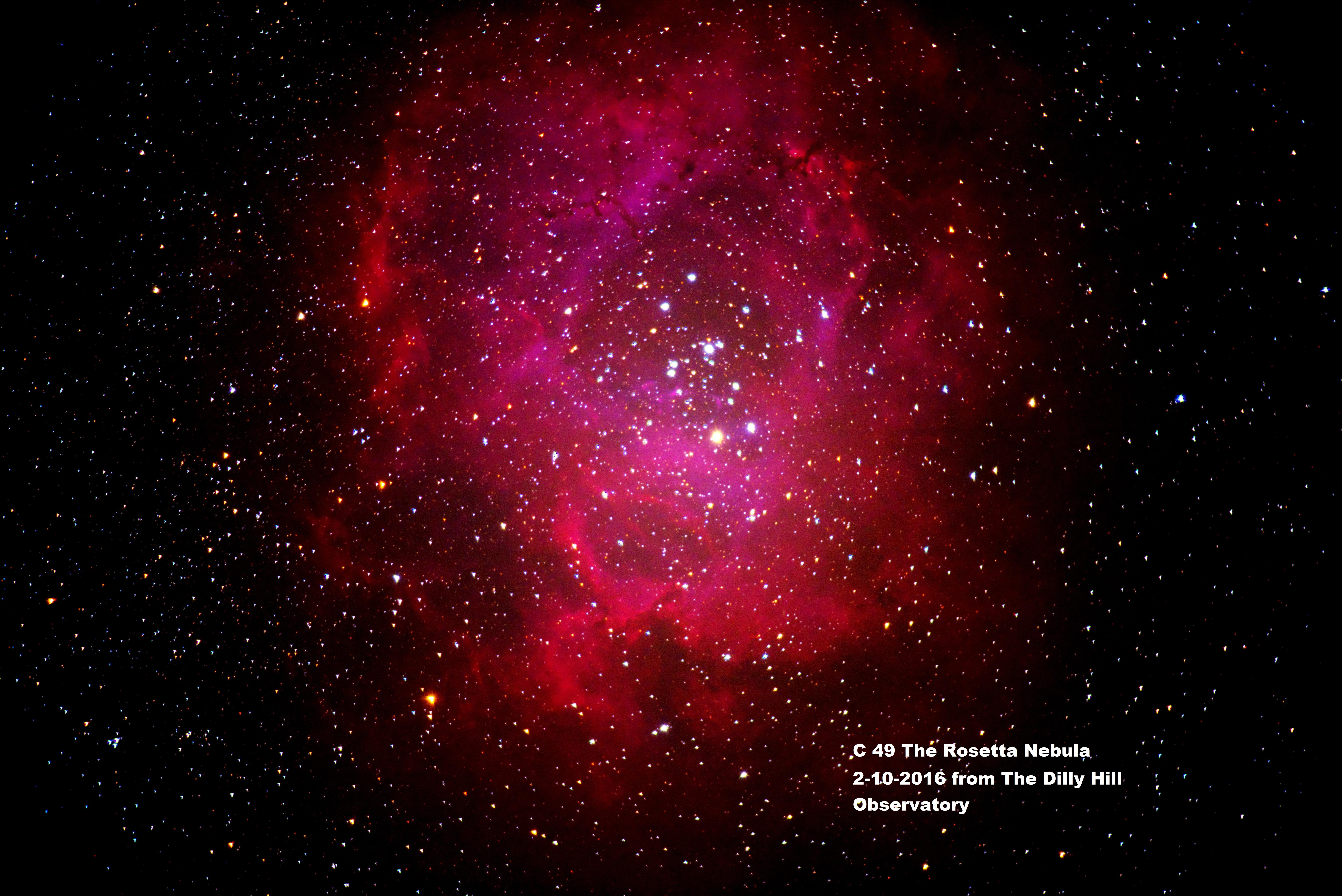Rosetta Nebula 2-10-2016