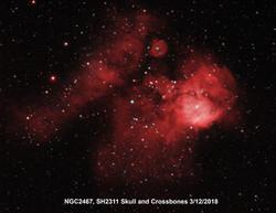 NGC 2467 HaOiii