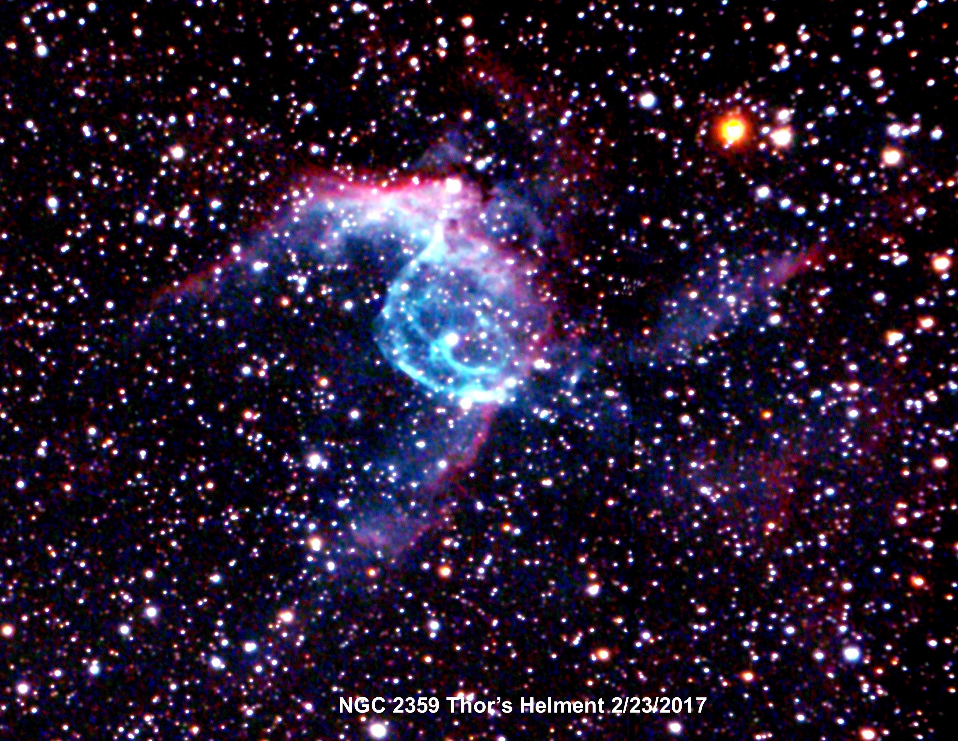 NGC 2359 Thors Helment