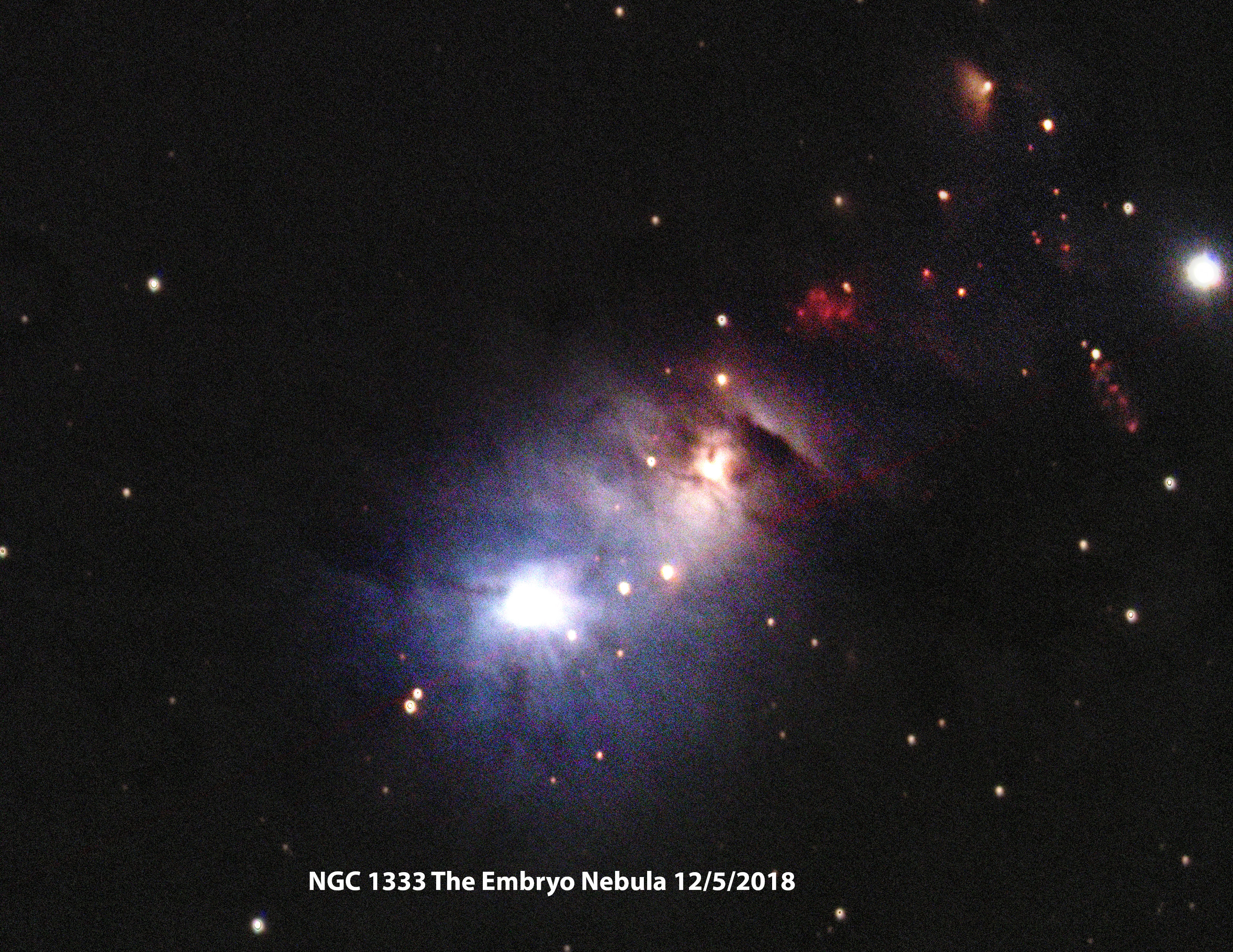 NGC 1333 LRGB