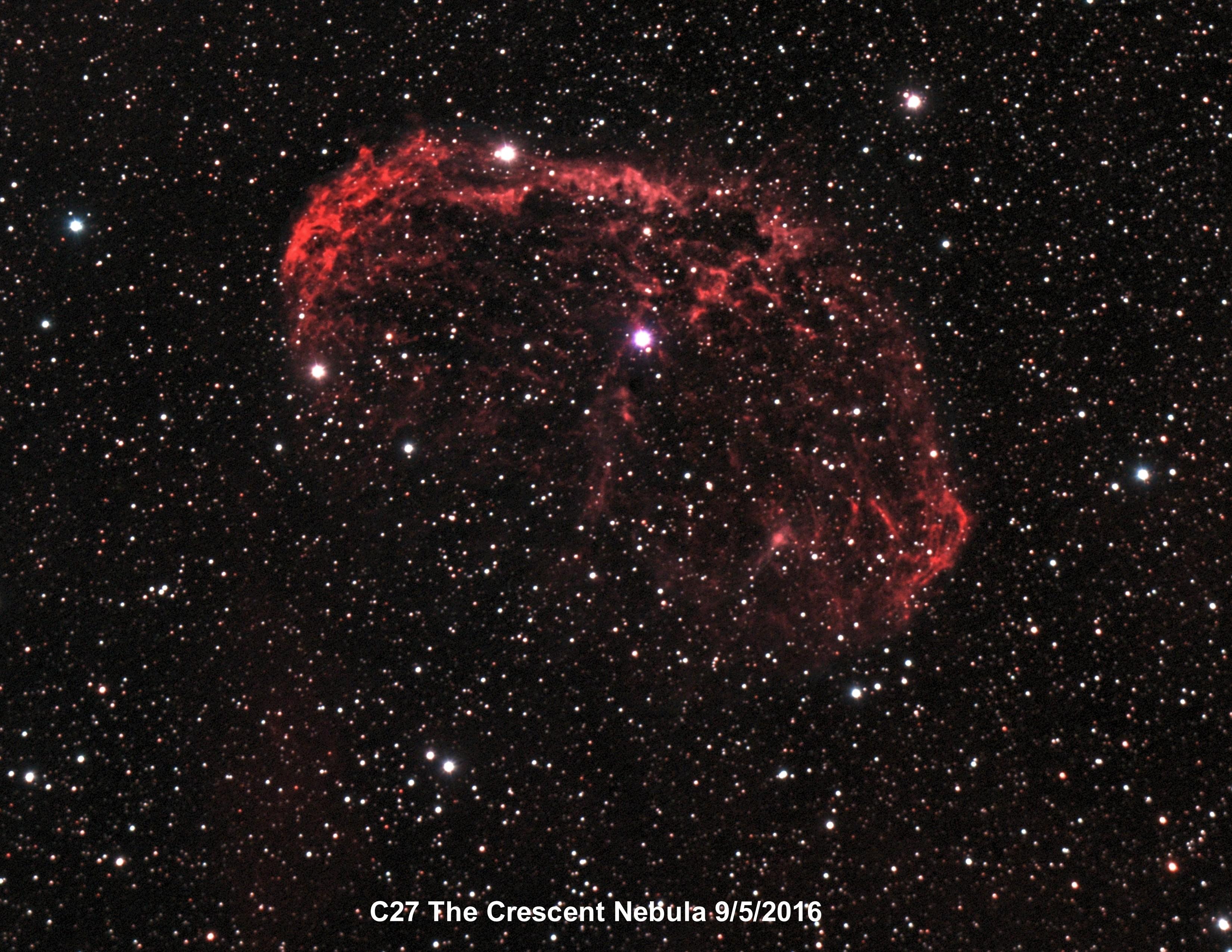 C27 Crescent Nebula