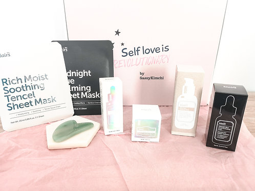 Box I KLAIRS (PIGMENTATION+SENSIBLE+ HYDRATION midnight + vitamin C&E +...)