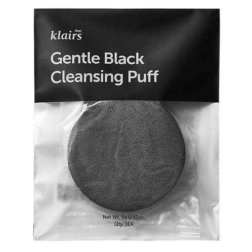 KLAIRS GENTLE BLACK CLEANSING PUFF