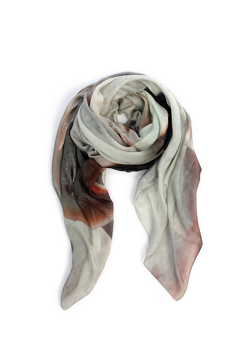 HEART OF ACE Foulard SUCCULENT - Modal / Silk Blend