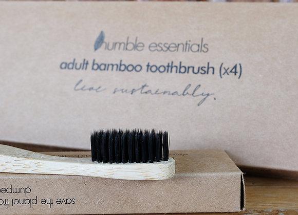 Bamboo Toothbrush (4-pack)