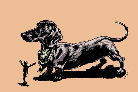 Jeffery the Weiner-Dog