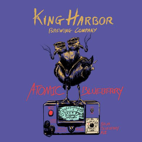 King Harbor Brewing: Atomic Blueberry