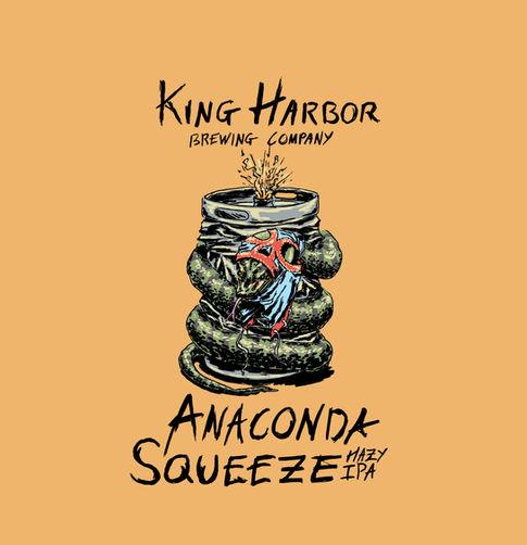 King Harbor Brewing: Anaconda Squeeze
