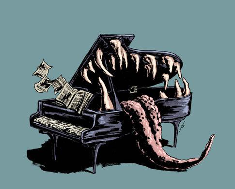 Piano Man Eater