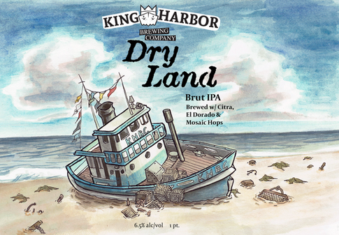 King Harbor Brewing: Dry Land