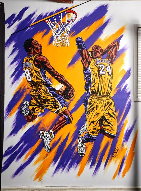 Kobe Tribute Mural