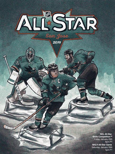NHL 2019 All Star San Jose