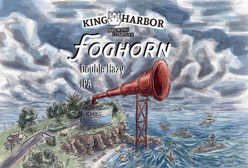 King Harbor Brewing: Foghorn