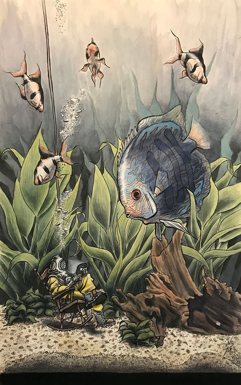 Reading with The Fish