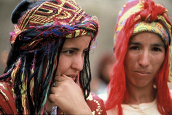 Berber women, Morocco