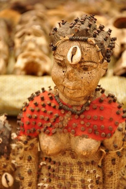 Voodoo doll, Togo, West Africa