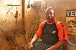 Voodoo priest, Togo, West Africa