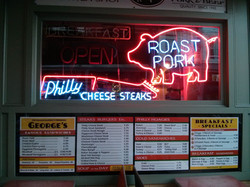 Famed Philly Cheesesteaks