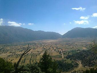 Omalos plateau