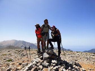 Melidaou summit Lefka ori