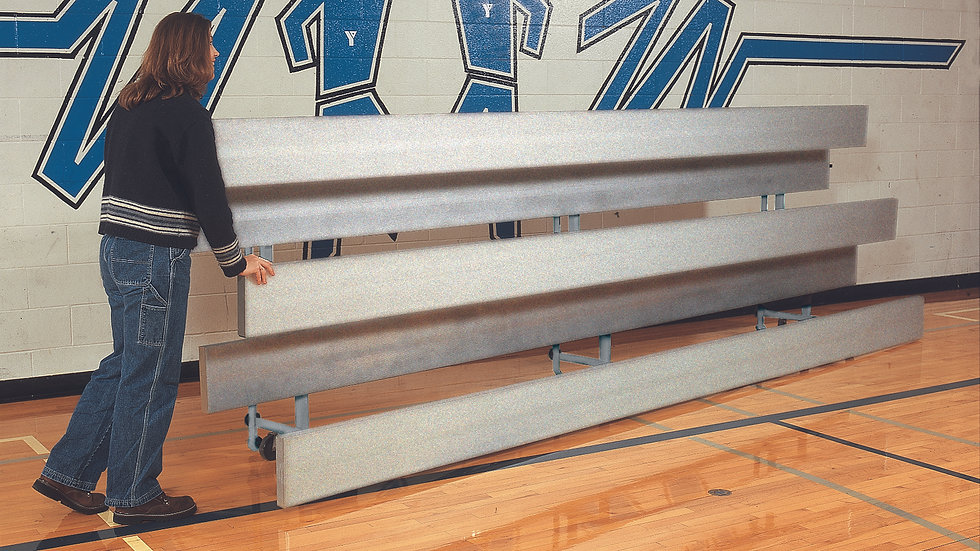 Easy Store Aluminum Indoor Bleachers
