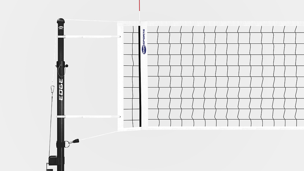 The Edge: All Carbon Telescoping Volleyball System