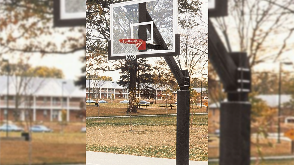 ULTIMATE FIXED HEIGHT GOAL WITH GLASS BACKBOARD