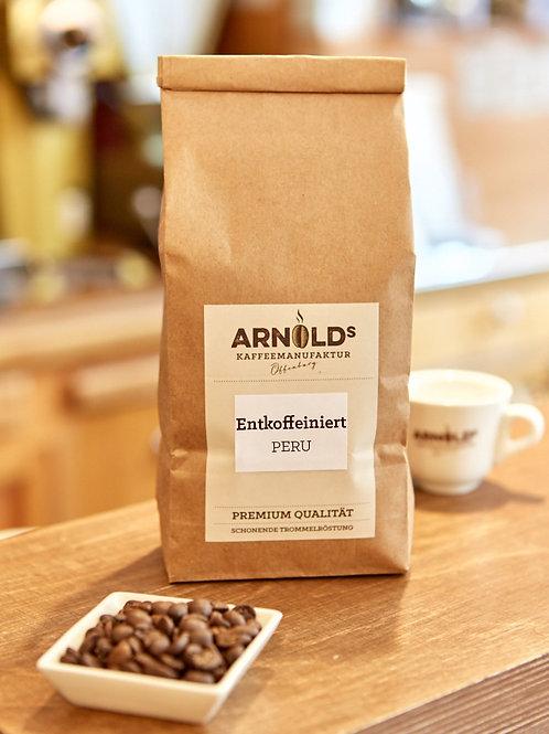 Entkoffeinierter Kaffee/Espresso PERU