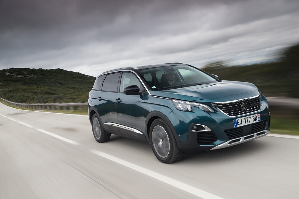 The all-new PEUGEOT 5008 - A Whole new dimension for SUVs