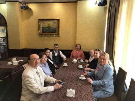 """Рабочая встреча руководства Фонда """"Достойная память"""""""