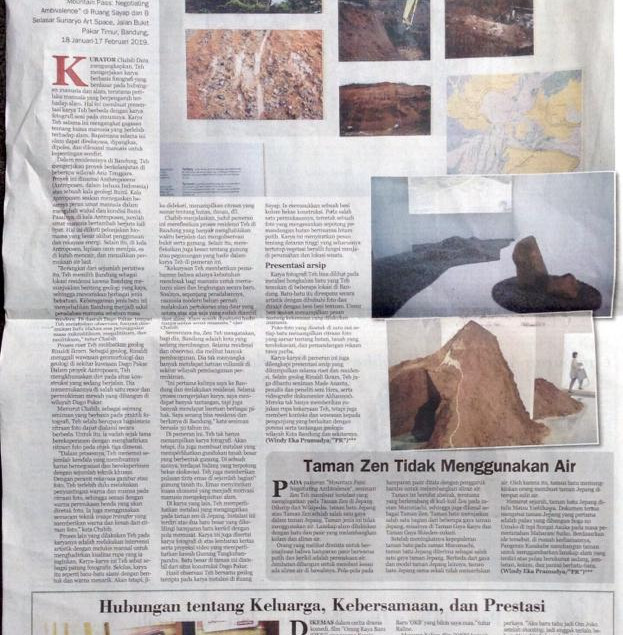 Feature on National Newspaper Indonesia