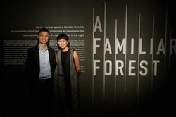 Collaborator, Dr Ching Jianhong with Zen Teh